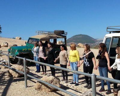 חופשה בישראל עם טיול ג'יפים