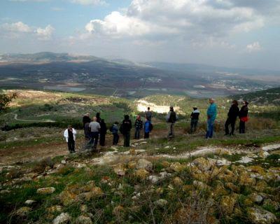 israel tour – Mt. Gilboa