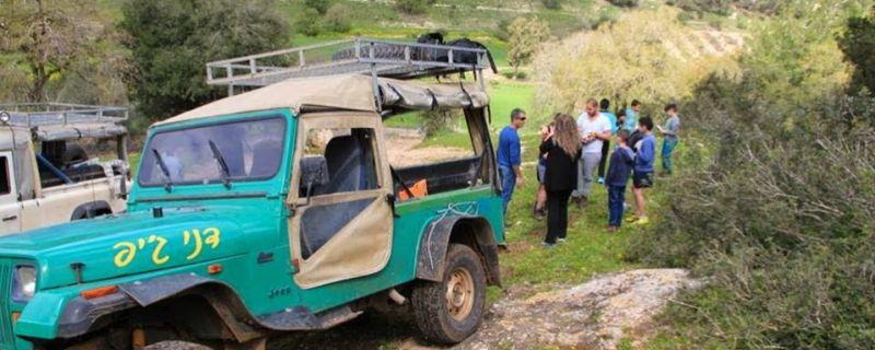 אירוח בדואי וטיול ג'יפים בעמק יזרעאל