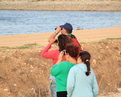 טיול צפרות בעמק בית שאן