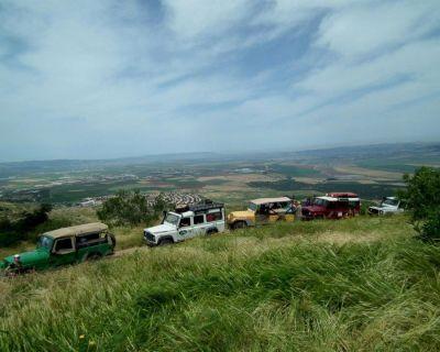 Jeep trip to Mount Gilboa