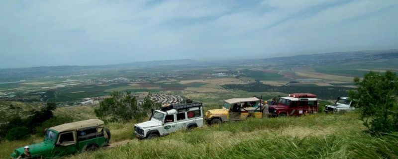 Jeep trip to Mount Gilboa