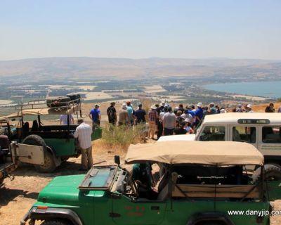 טיול ג'יפים בעמק הירדן והכנרת